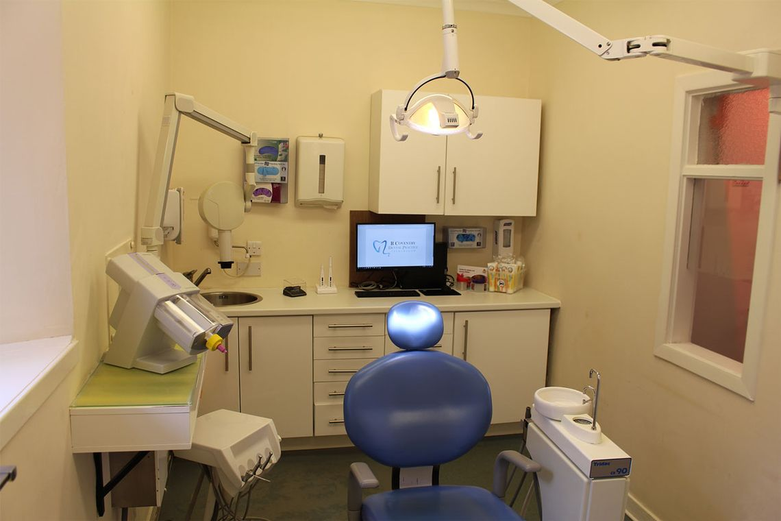 One of the dental rooms in our practice
